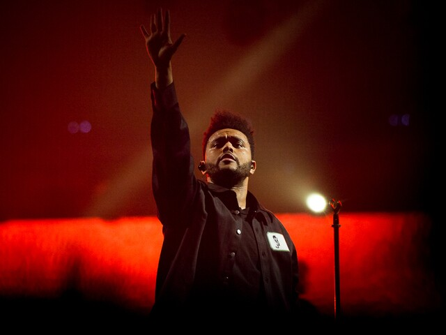 The Weeknd at U.S. Bank Arena