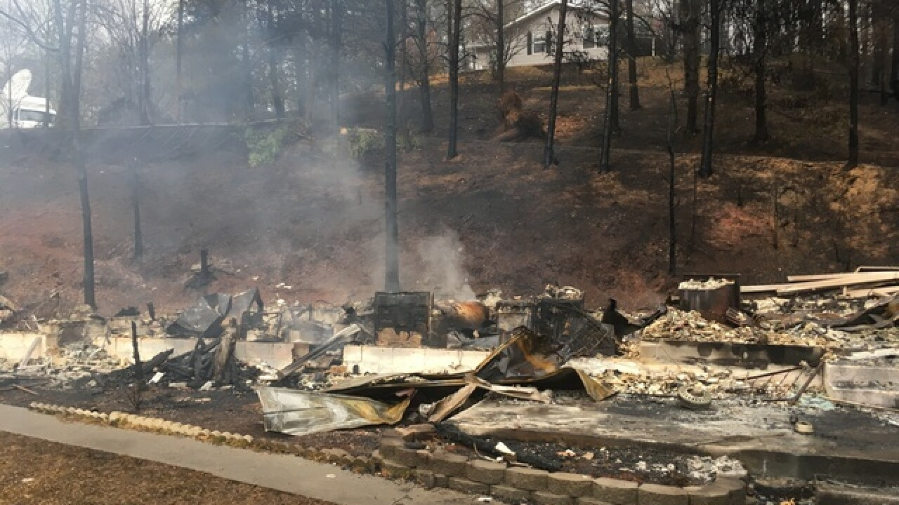 How you can help wildfire victims in Gatlinburg