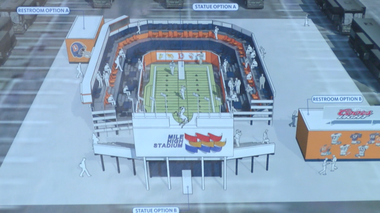 Denver Broncos to 'rebuild' Mile High Stadium