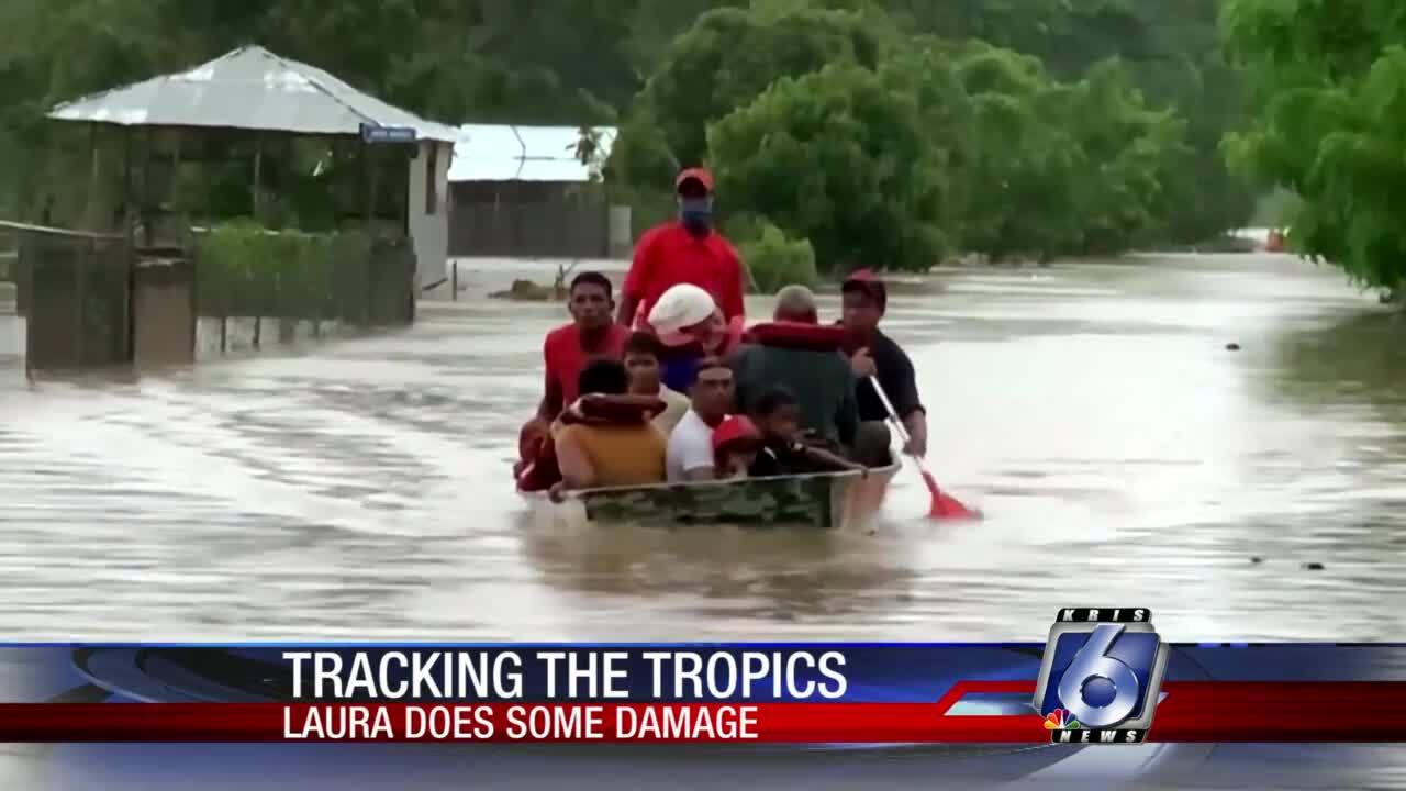 Tropical Storm Laura is drenching the Dominican Republic