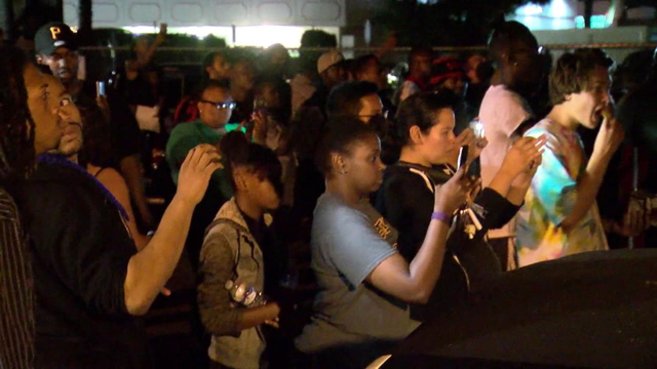 El Cajon police shooting prompts angry response