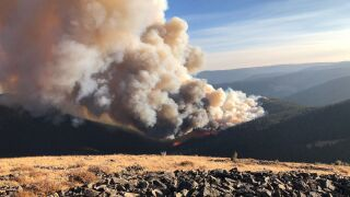 Yogo Fire photo from Helena-Lewis and Clark National Forest