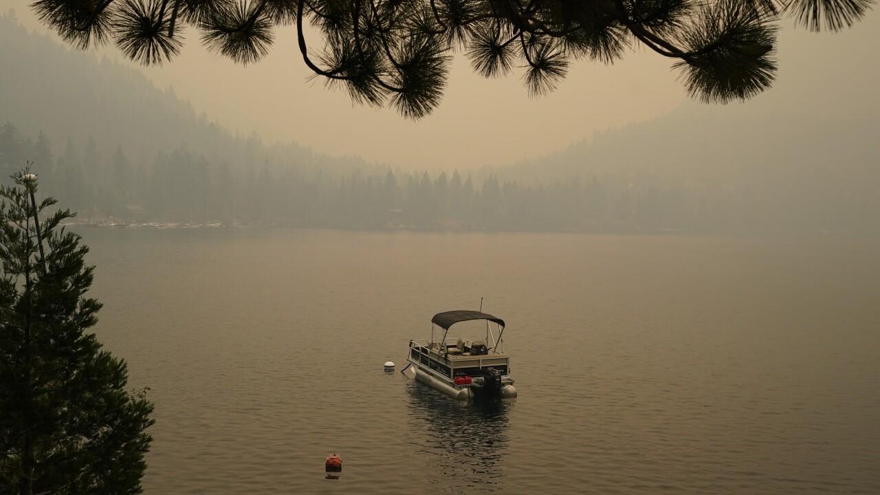 US Western Wildfires