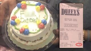 Duffy's Sports Grill in Boynton Beach pays cancer survivor's check
