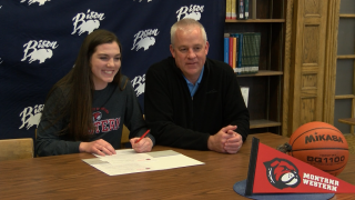 Great Falls High's Erin Watt signs to play basketball at Montana Western