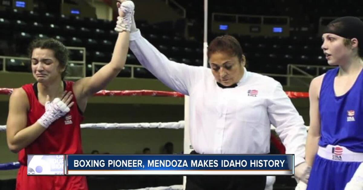 16-year old becomes first female Team USA boxer