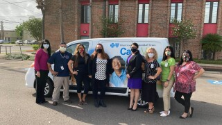 Non-profit group gets a van to help underserved communities