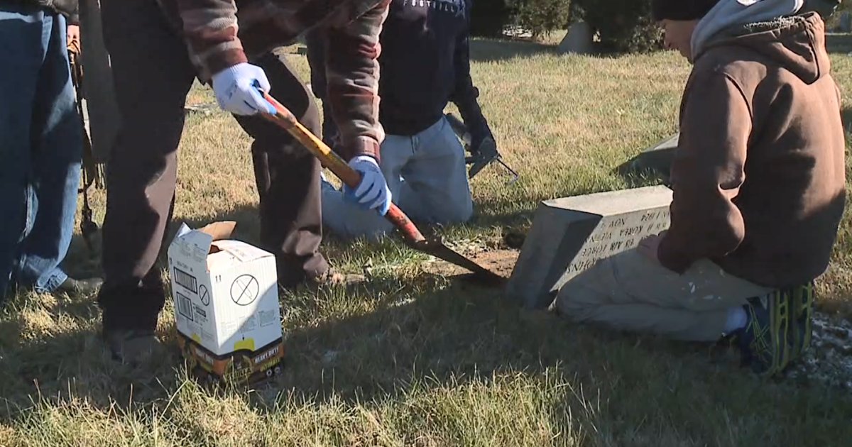 'Hate didn't win': Community cleans up vandalism at historic Black cemetery