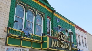 The Oz Museum stands out in downtown Wamego.JPG