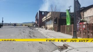 "Gardiner businesses destroyed by fire: ""It blew up like crazy"""