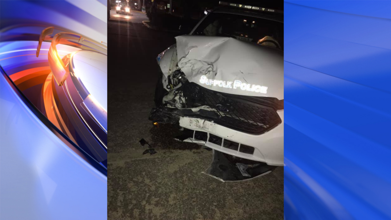 Police investigating after officer involved in Suffolk crash