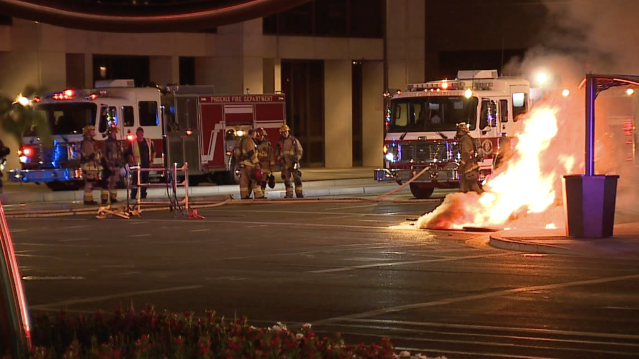 Man killed in underground explosion in downtown Phoenix
