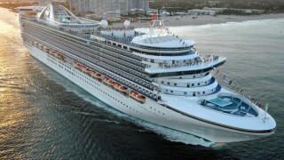 "Princess Cruises ""Caribbean Princess"" cruise ship"