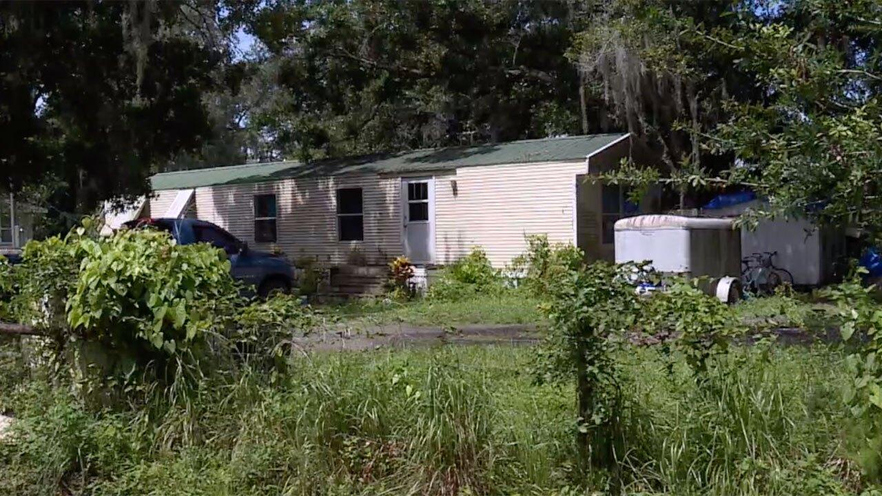 Shawn Pyper's home in Okeechobee County