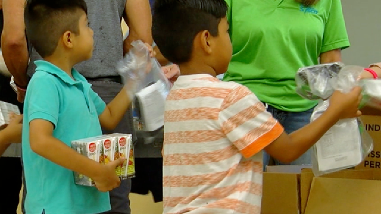 Free Food For Families program begins
