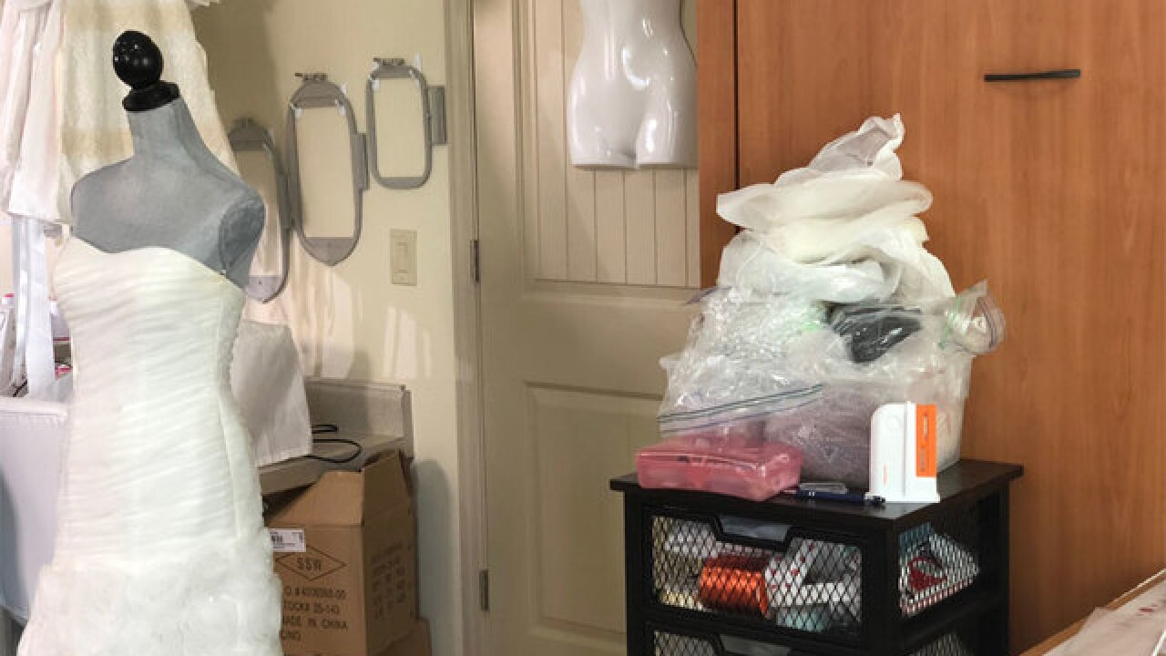 'Angel gowns' comfort grieving families