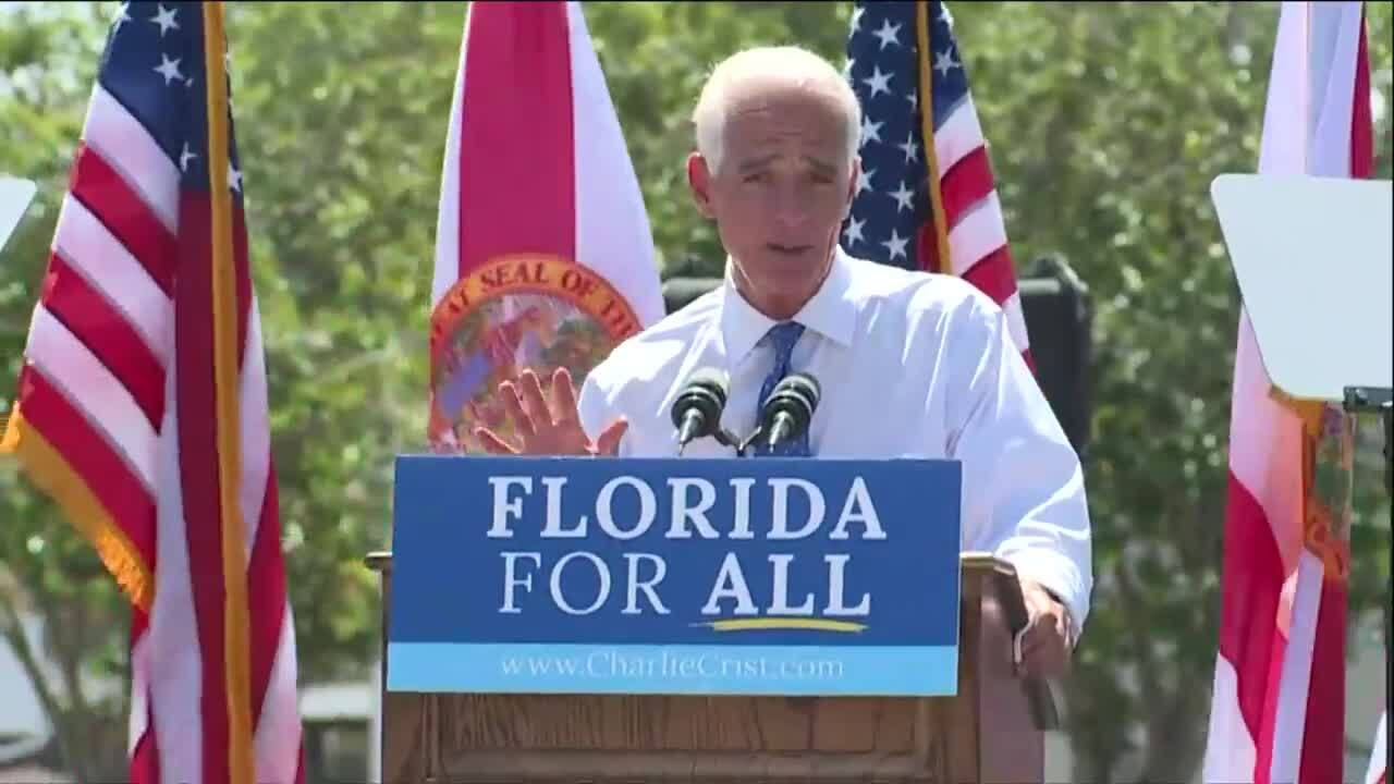 Charlie Crist announces he's running for governor, May 4, 2021