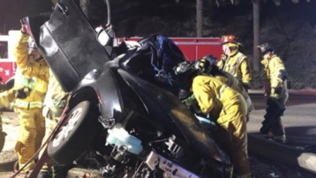 Teen suffers life-threatening injuries in crash