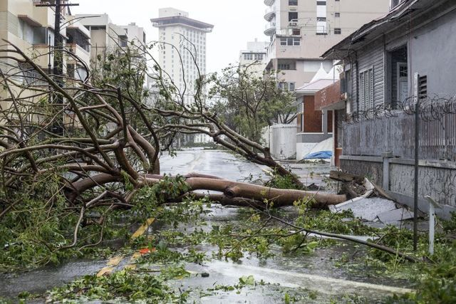 PHOTOS: Hurricane Maria bears down on Puerto Rico