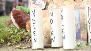 vigil for Nolen Jones