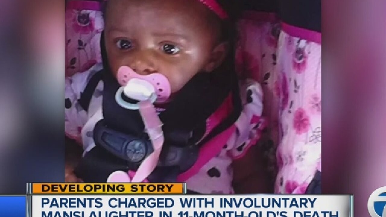 Parents to be arraigned in death of 11-month-old