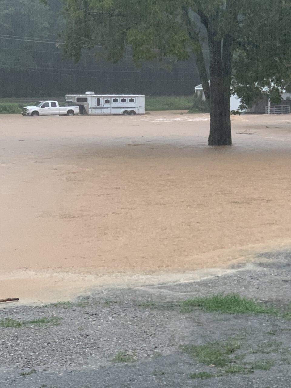 dickson flooding - 8/21/21