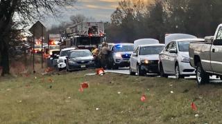 I-83 NB 7 Car Pile-up