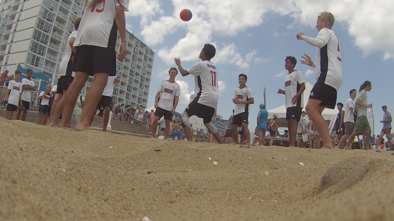 North American Sand Soccer Championships return to Virginia Beach Oceanfront