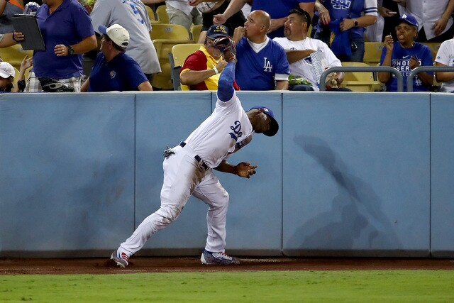 The many emotions of the Los Angeles Dodgers' Yasiel Puig