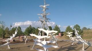 7-20 Memorial Foundation unveils sculpture honoring victims of Aurora movie theater shooting