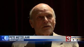 Holocaust survivor Pete Metzelaar