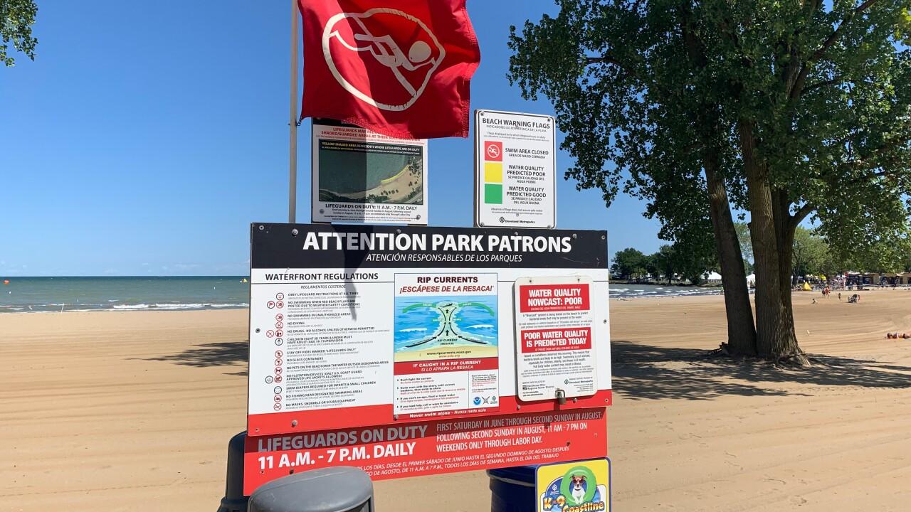 Edgewater Beach closed