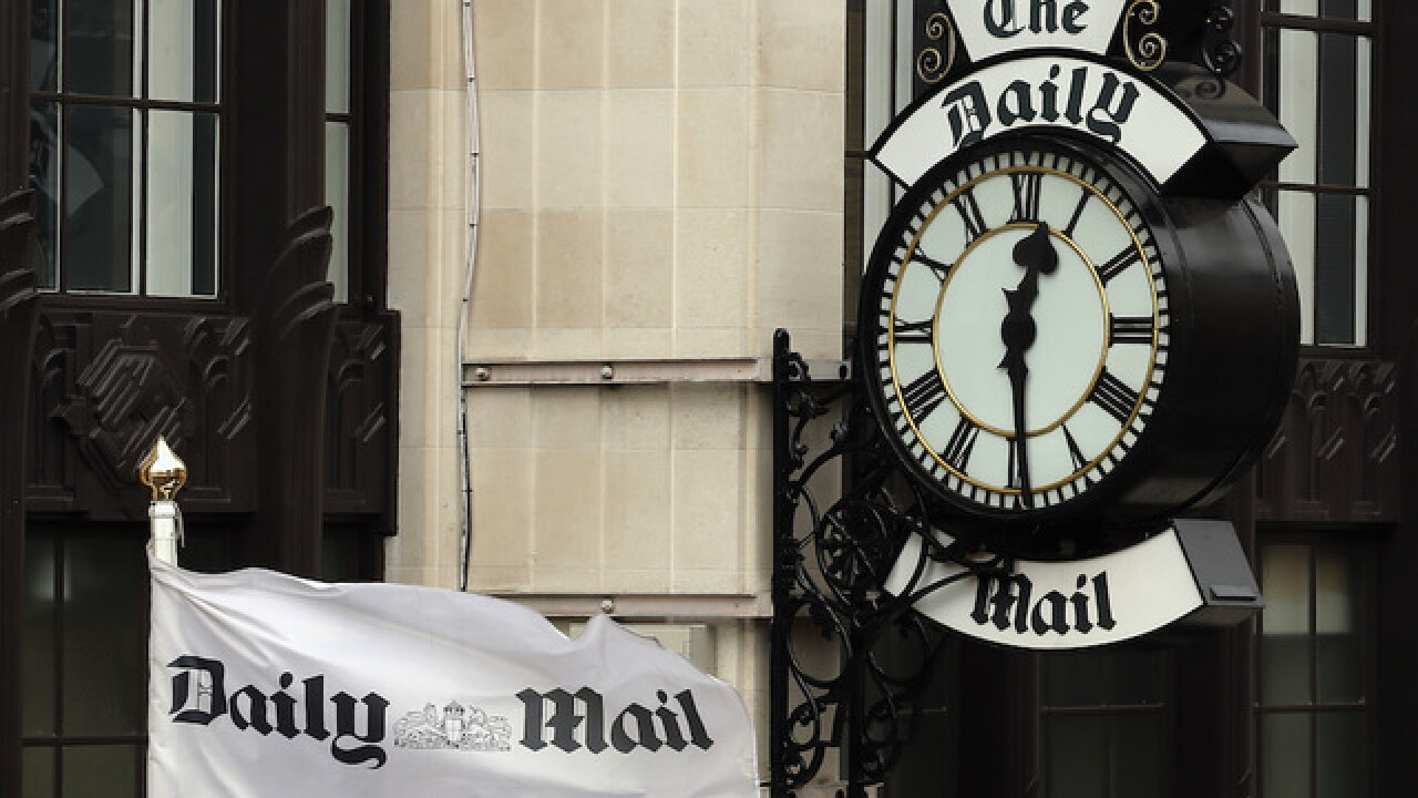 Wikipedia bans citations of The Daily Mail