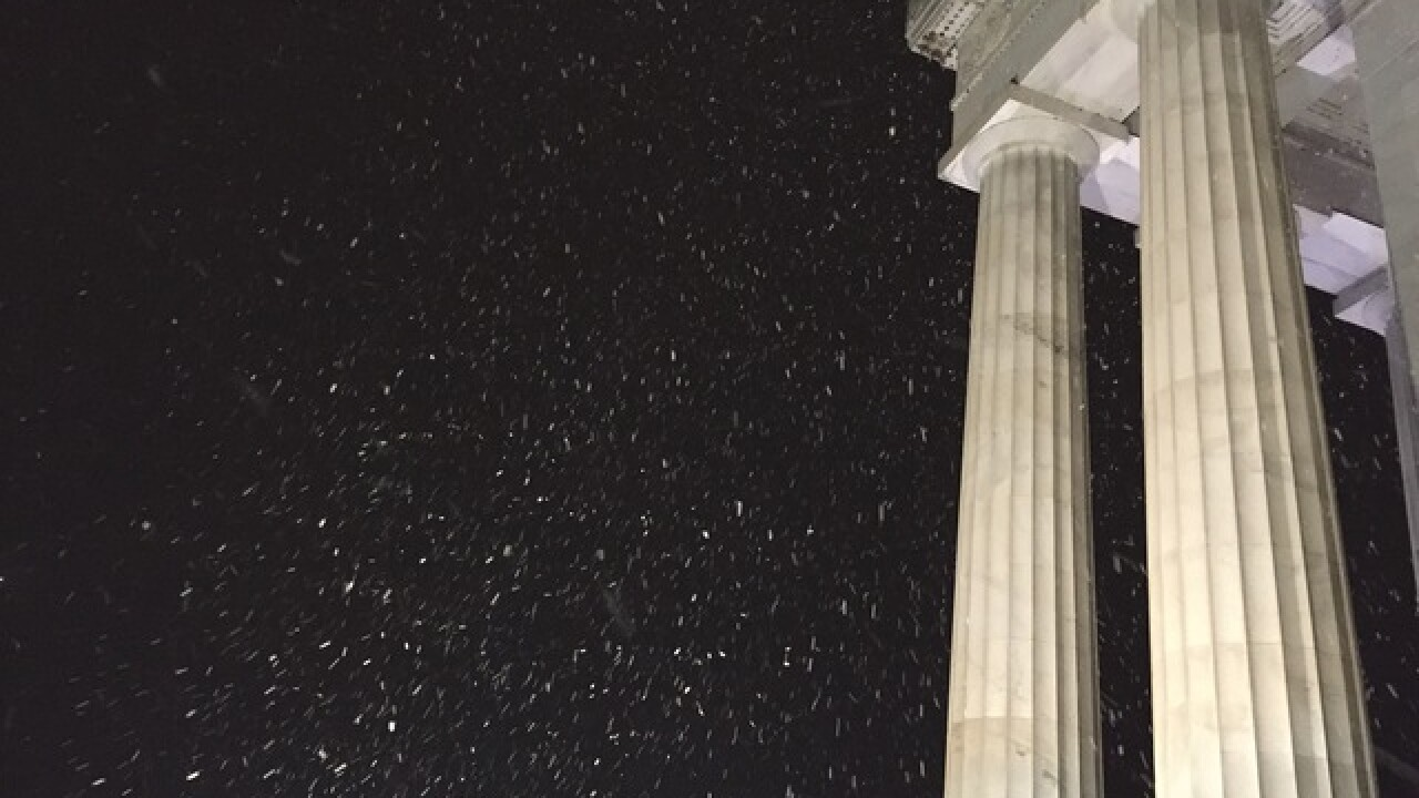 PHOTOS: A snowy Washington, DC