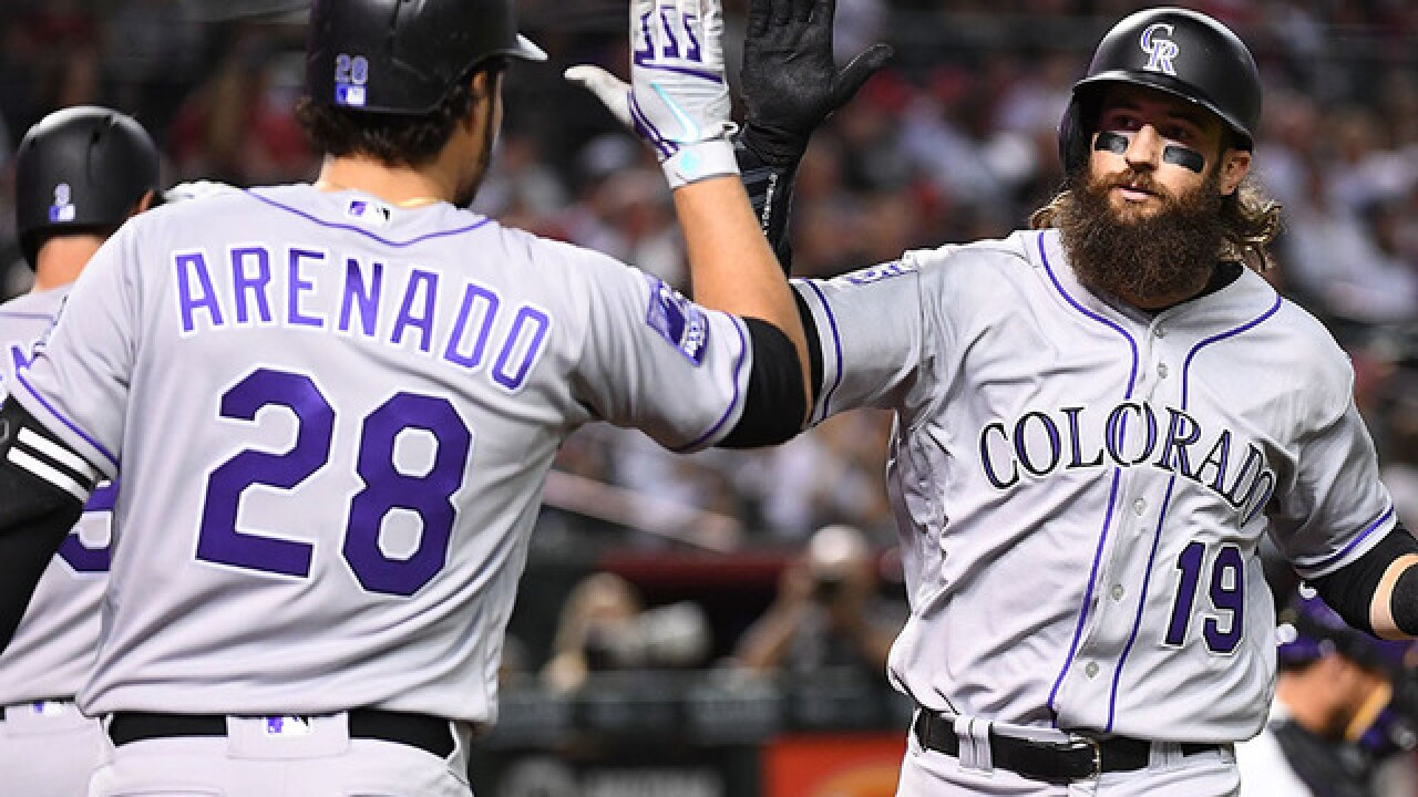 Charlie Blackmon signs six-year extension with Rockies