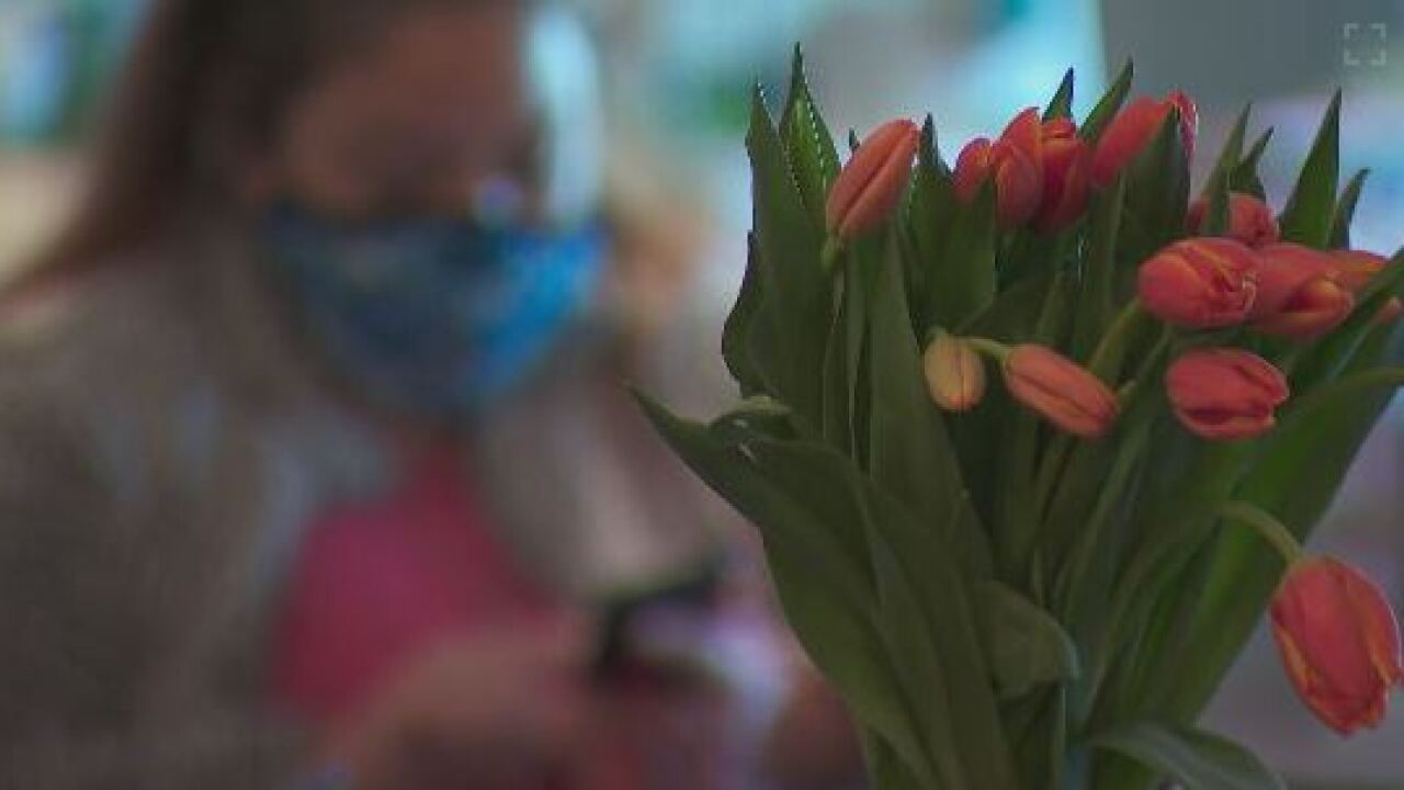 Tulips delivered to Nashville Rescue Mission
