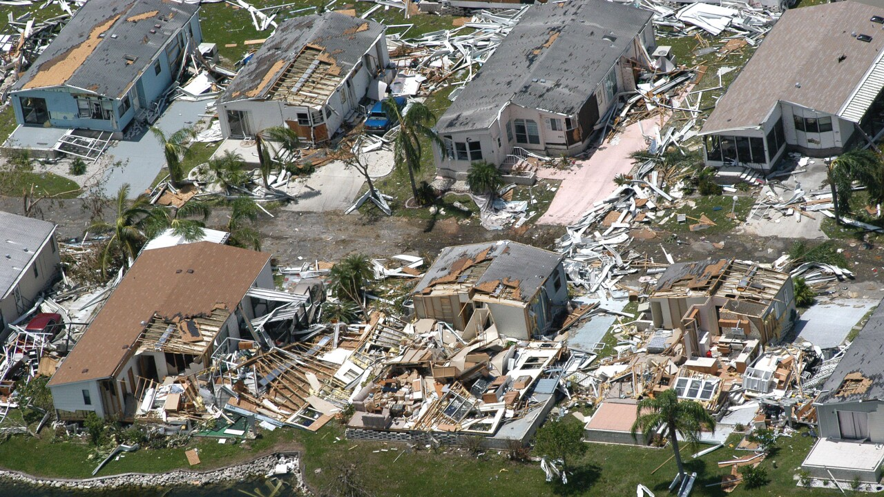 Structures Destroyed In Wake Of Hurricane Charley