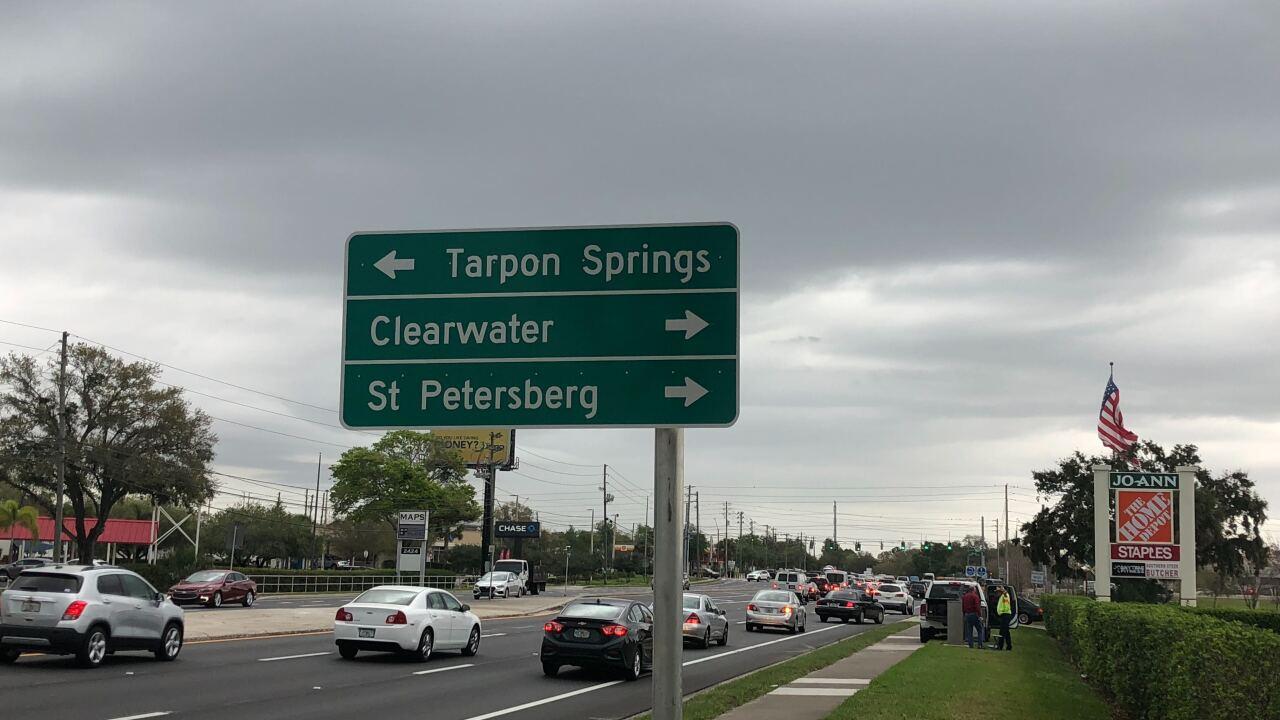 St. Petersburg spelled wrong