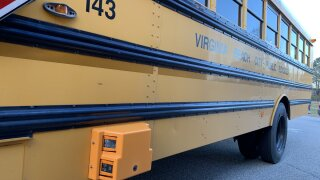 Virginia Beach school buses now have cameras to catch drivers passing