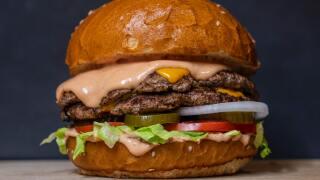 File image of burger.