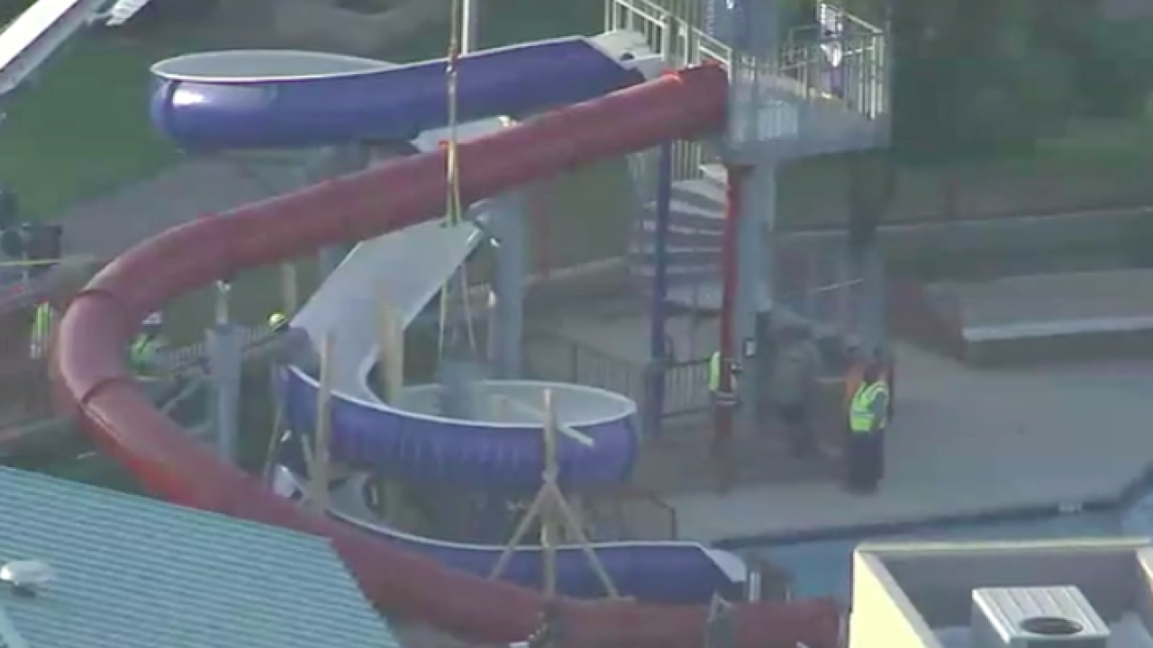 Waterpark rescue