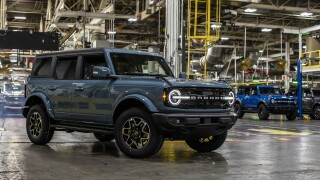 Ford Bronco Michigan Assembly Plant