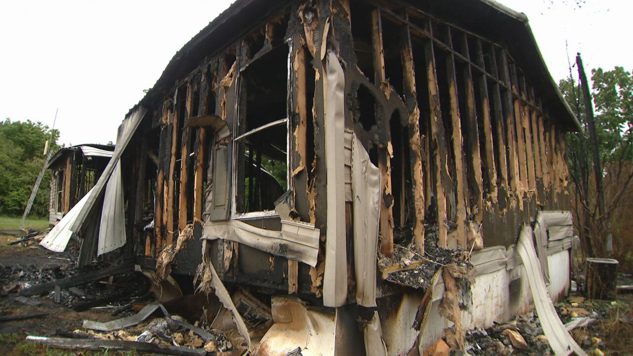 WWII Veteran loses home in fire