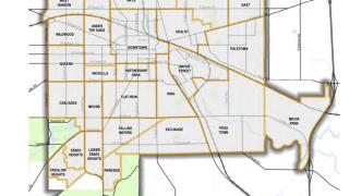 Proposed neighborhood association map