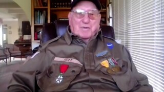 Local WWII veteran talks about how fight to preserve freedom relates to why he votes