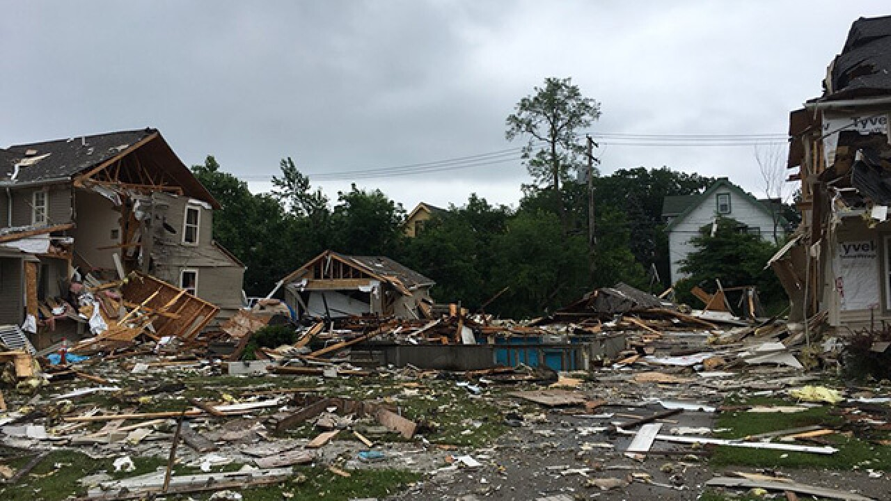East Cleveland house explosion likely caused by scrappers