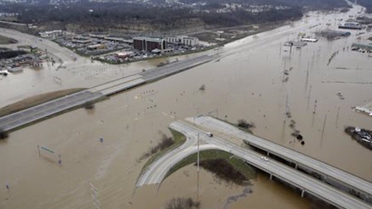 Flooding forcing evacuations, traffic troubles