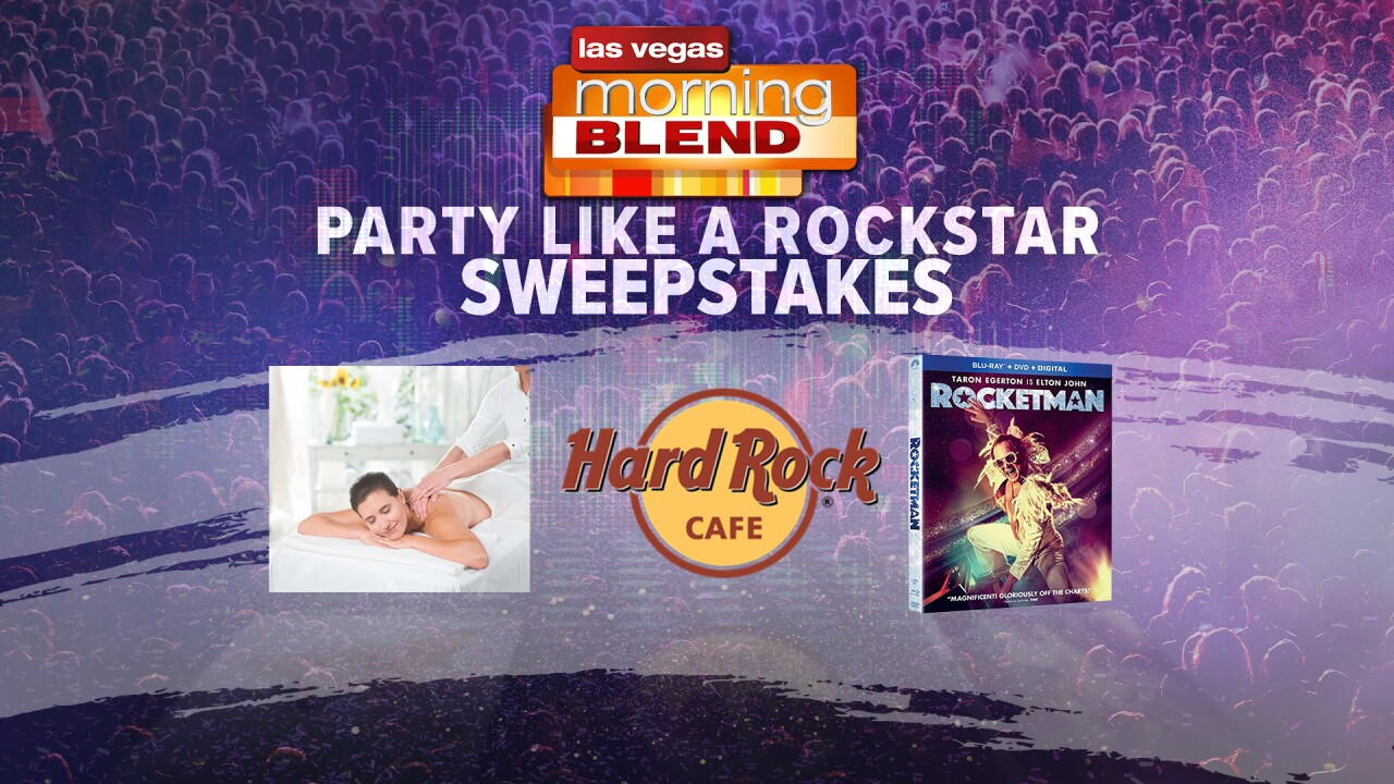 The Morning Blend party like a rock star sweepstakes