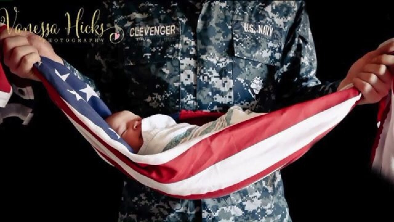 Does this picture desecrate the Americanflag?