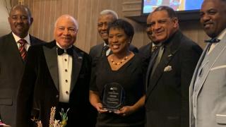 Danita Harris 2020 Media Personality of the Year Award